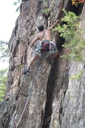 Rock Climbing Photo: Nuke The Whales Wall  Playing An Eliminate (5.10-)...