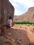 Rock Climbing Photo: And begin.