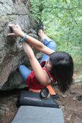 Rock Climbing Photo: daisy toward the beginning