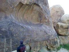 Rock Climbing Photo: The bottom of The Gate Keeper. A beautiful and ver...