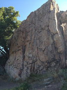 Rock Climbing Photo: From S-W approach