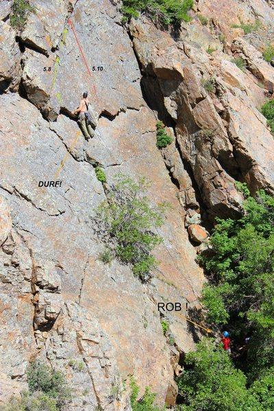 Rock Climbing Photo: The first ascent of Los Pantalones De Alex
