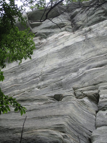 Rock Climbing Photo: Encore/The Fat Lady is the seam to the left.  Phan...
