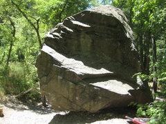 Rock Climbing Photo: House Boulder, East Face