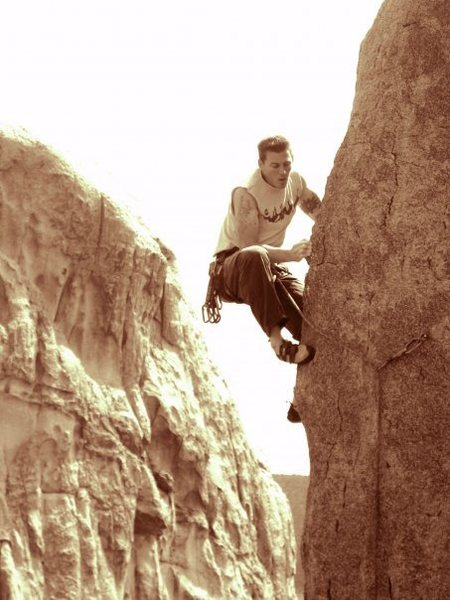Rock Climbing Photo: Cairo (.11a) - Definitely one of best .11a's in th...