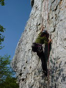 Rock Climbing Photo: D in Bonsaï (top-rope)
