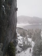 Rock Climbing Photo: good looking bat hooking