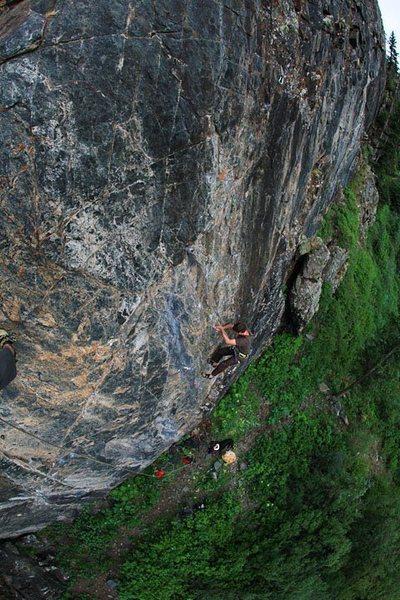 Rock Climbing Photo: Master's Wall.