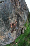 Rock Climbing Photo: Master's Wall, Cunningham Gulch.
