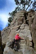 Rock Climbing Photo: Climb the left arete