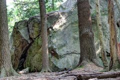 Rock Climbing Photo: The beautiful arete and crack!