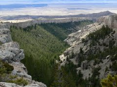 Rock Climbing Photo: Here's a shot of one of the canyons