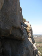 Rock Climbing Photo: fun footwork through the upper section