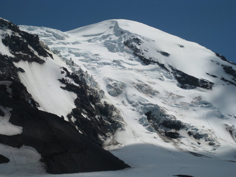 Adams Glacier on July 12, 2012.