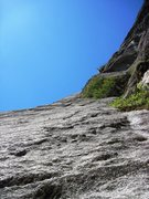 Rock Climbing Photo: Other Side of the tracks - P2 - 5.7 or 8. Excellen...