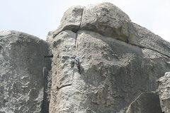 Rock Climbing Photo: twist and crawl 5.8R ****