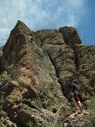 Rock Climbing Photo: Havin' fun.