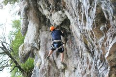 Rock Climbing Photo: Stalactites everywhere!