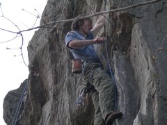 Rock Climbing Photo: 5.10 sport route in upper west