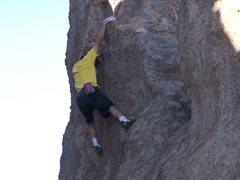 Rock Climbing Photo: Bouldering in City of Rocks, N.M.