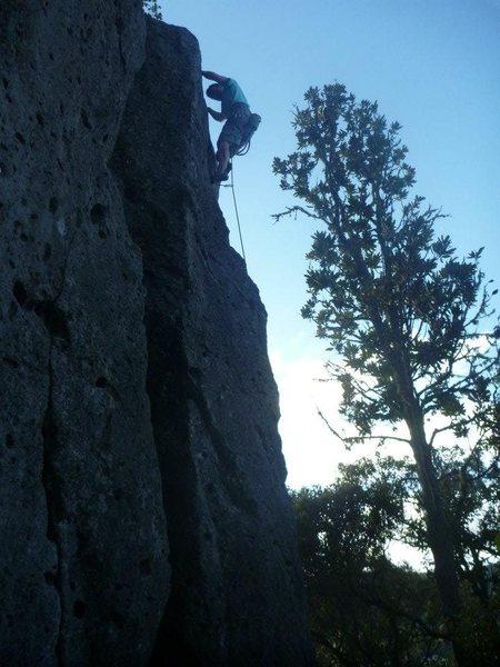 Rock Climbing Photo: Small pox