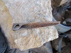 Rock Climbing Photo: Old pin from Naranja