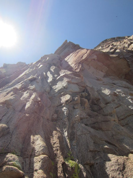 Rock Climbing Photo: Naranja as seen from base of route