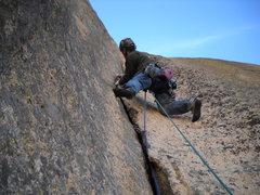 Rock Climbing Photo: Pitch 3
