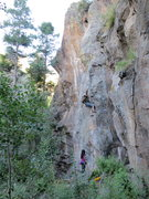Rock Climbing Photo: David cookin' up Hobo Hash.