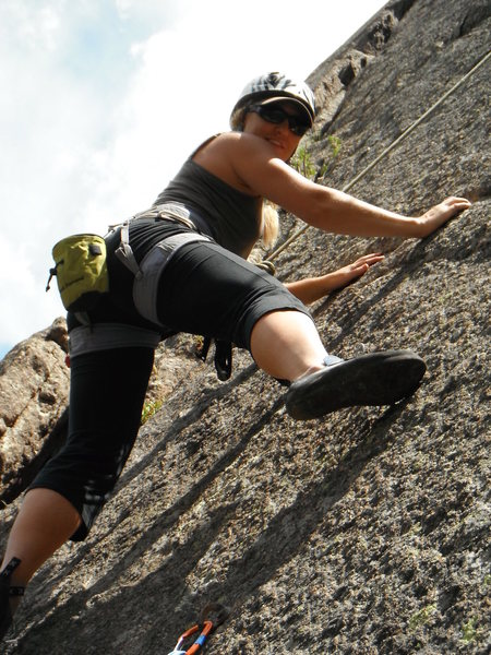 Rock Climbing Photo: Lyons, CO - Coliseum & Parthenon Climb