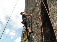 Rock Climbing Photo: CHEATING - Lyons, CO - Coliseum & Parthenon Climb ...