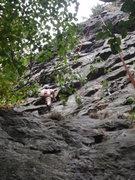 Rock Climbing Photo: Ryan giving a quick TR burn on 7 Dwarves.
