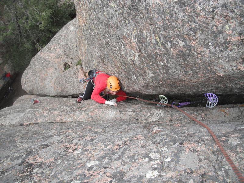 Rock Climbing Photo: Yellow Belly