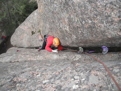Rock Climbing Photo: Yellow Belly