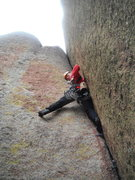Rock Climbing Photo: It gets wider and wider the higher you go