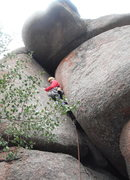 Rock Climbing Photo: Bulging and OW