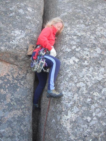 Rock Climbing Photo: WIde and fun