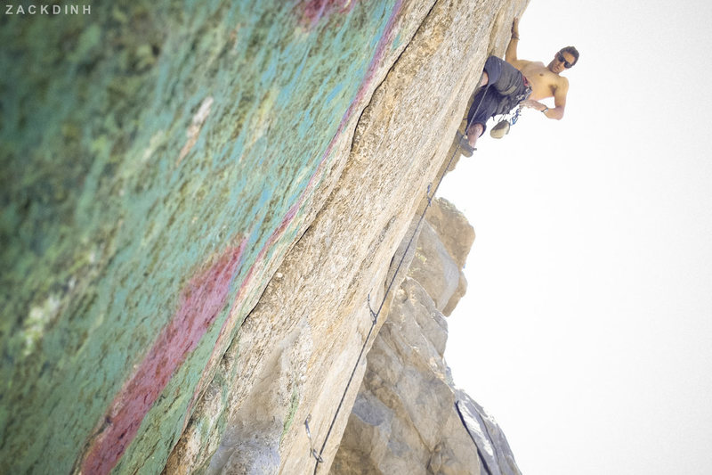 Rock Climbing Photo: Industrial Bliss (5.10a)
