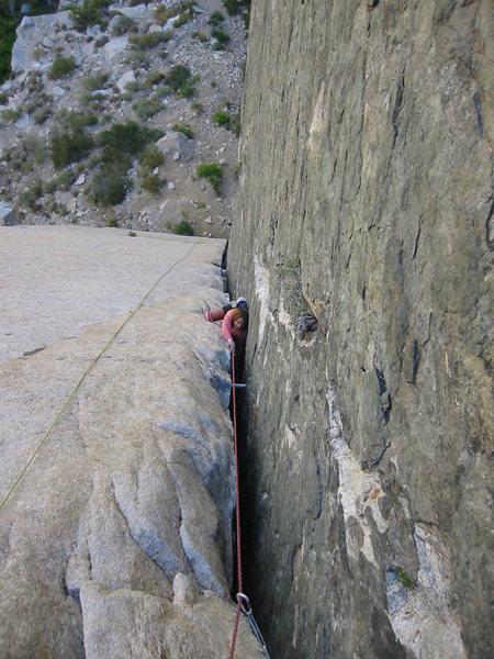 Rock Climbing Photo: Pratt's Crack