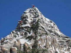 Rock Climbing the Matterhorn at Disneyland (Anaheim, CA)