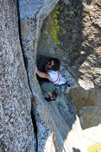 Rock Climbing Photo: Fear of Flying