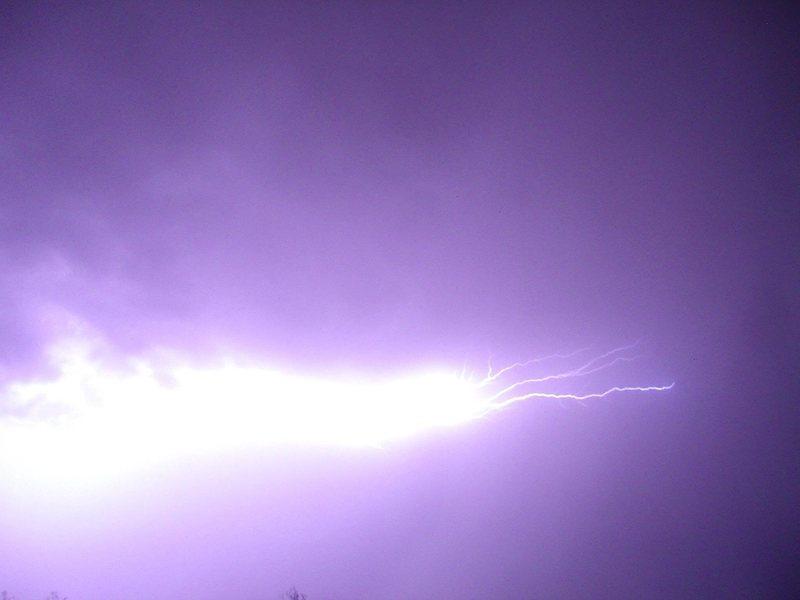 Rock Climbing Photo: Lightning in JTNP
