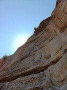 Rock Climbing Photo: Warm Up.
