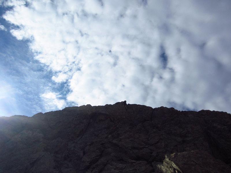 Rock Climbing Photo: Jerod, climbing up one of the ridges. I would call...