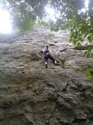 Rock Climbing Photo: Frequent Flatulence, 5.10b
