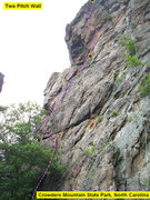 Rock Climbing Photo: Two Pitch Wall  Cambodian Holiday (5.9) trad  Crow...
