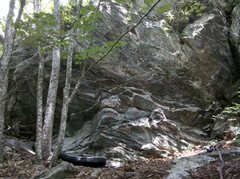 Rock Climbing Photo: The Left Side of the Superhero boulder...the pad i...
