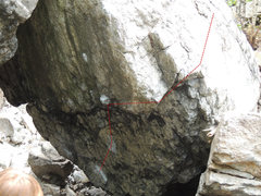 Rock Climbing Photo: the general line