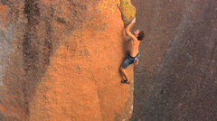 Rock Climbing Photo: Black Pearl... one of only a few V8s, and one of t...