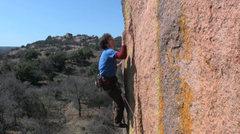 Rock Climbing Photo: Cactus Makes Perfect, Enchanted Rock State Natural...